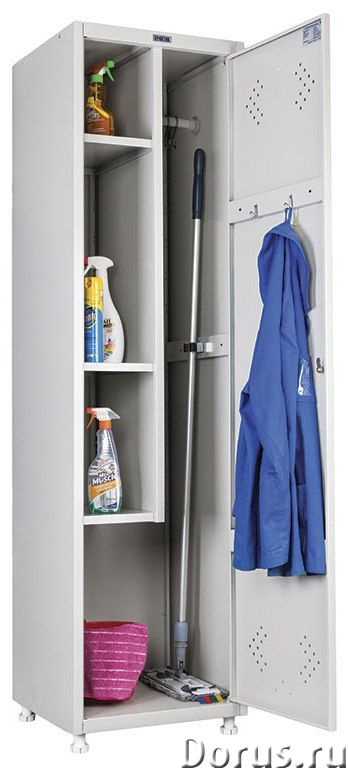 Шкаф для одежды металлический Практик LS - Офисная мебель - Шкафы для одежды металлические Практик L..., фото 2