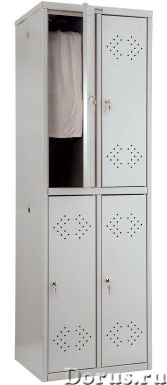 Шкаф для одежды металлический Практик LS - Офисная мебель - Шкафы для одежды металлические Практик L..., фото 4