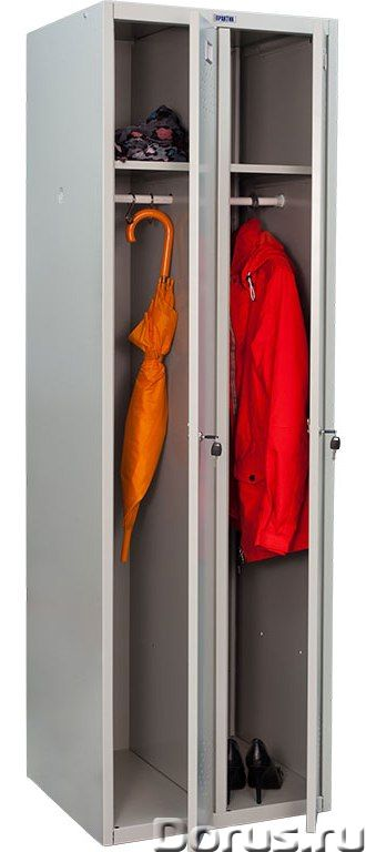 Шкаф для одежды металлический Практик LS - Офисная мебель - Шкафы для одежды металлические Практик L..., фото 5
