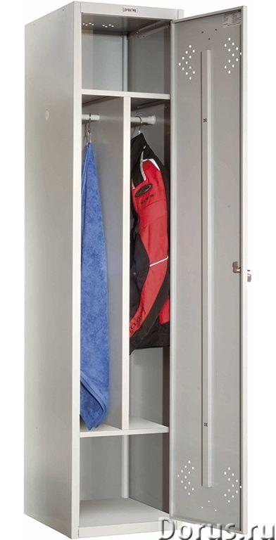 Шкаф для одежды металлический Практик LS - Офисная мебель - Шкафы для одежды металлические Практик L..., фото 6
