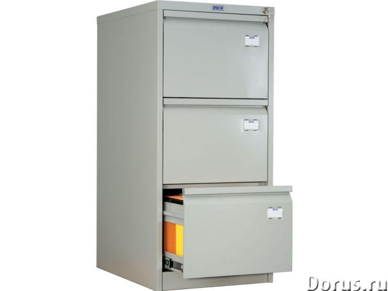 Шкаф картотечный металлический AFC Практик - Офисная мебель - Шкаф картотечный металлический AFC Пра..., фото 2