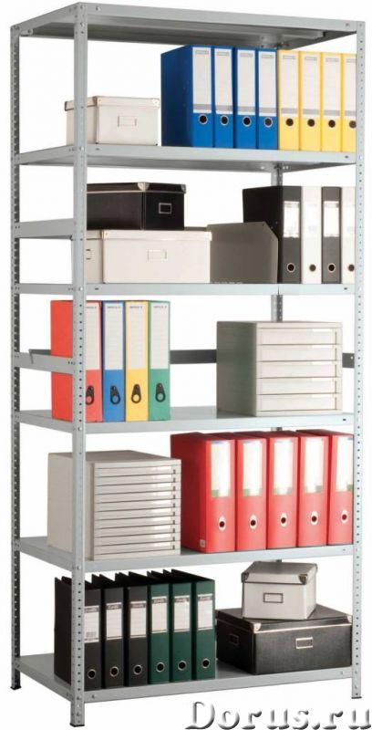 Стеллажи металлические архивные MS Практик - Офисная мебель - Стеллажи металлические архивные MS Пра..., фото 1