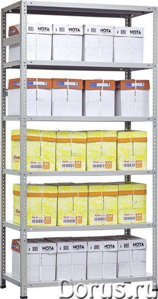 Стеллажи металлические архивные MS Практик - Офисная мебель - Стеллажи металлические архивные MS Пра..., фото 3