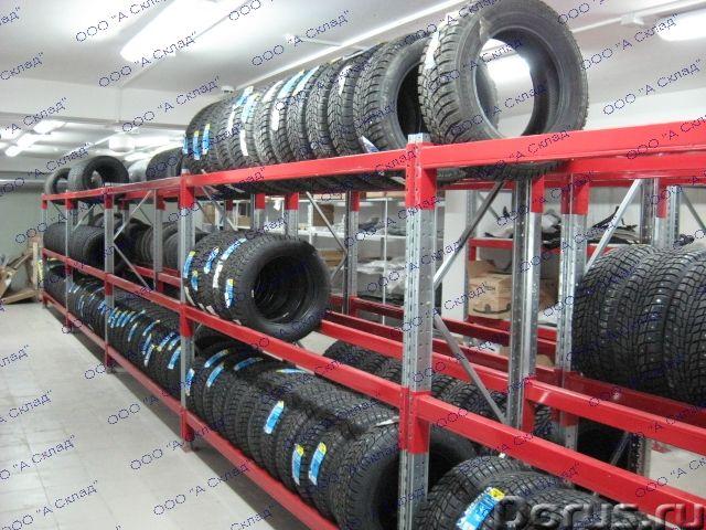 Складские стеллажи для хранения грузовых шин - Товары промышленного назначения - Предлагаем складски..., фото 2